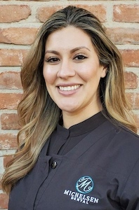 Orange CA dentistry team member Janine